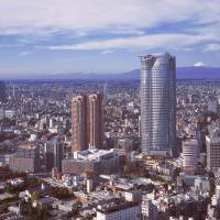 Looking good: Roppongi Hills in Tokyo's Minato Ward celebrates its 10th anniversary this year. Since opening, the complex has given the Roppongi district a more stylish and family-friendly image.