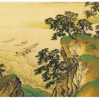Gyokudo Kawai's 'Breeze in the Pines, the Sound of the Waves' (1929)