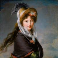 'Portrait of a Young Woman (Countess Worontzoff, c. | 1797) BY MARIE LOUISE ELISABETH VIGEE-LE BRUN (FRENCH, 1755-1842) ROBERT DAWSON EVANS COLLECTION 17.32569; PHOTOGRGRAPH © 2013 MUSEUM OF FINE ARTS, BOSTON
