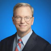 New age thought: Eric Schmidt, executive chairman of Google Inc. | BLOOMBERG