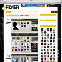 The new myflyer section lets users keep track of what their friends are into.