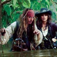 Untold riches: Actors Johnny Depp and Penelope Cruz star in the latest installment of the wildly successful 'Pirates of the Caribbean' film series. The latest adventure, 'On Stranger Tides,' has Depp's character, Capt. Jack Sparrow, searching for a fountain of youth. | PETER MOUNTAIN © DISNEY ENTERPRISES, INC. ALL RIGHTS RESERVED