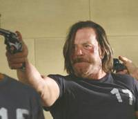 Do I feel lucky: Mickey Rourke plays a dangerous game in '13,' a disappointing remake of director Gela Babluani's own '13 Tzameti.'   © 2009 ALL RIGHTS RESERVED.