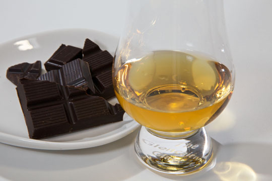 Chocolate bars for whisky lovers