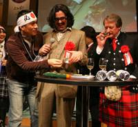 Expert pairings: Whisky Magazine Japan editor-in-chief Dave Broom (center) will host a whisky and chocolate pairing seminar at next month's Whisky Live!