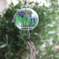 Hear the breeze: The delicate sound of glass furin (wind chimes) is traditionally believed to create a cooling atmosphere.