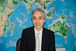 Pushing ahead: Saburo Takizawa, a professor at the United Nations University in Tokyo, and a former U.N. High Commission for Refugees' representative in Japan, believes this country's erstwhile shirking on refugees was a mistaken policy, and it is important that now Asia, led by Japan, is beginning to look after its own. | SABURO TAKIZAWA