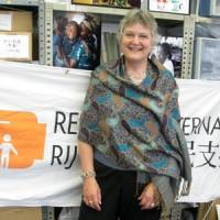 Refugees International Japan Jane Best | JUDIT KAWAGUCHI PHOTO