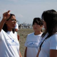 PHOTO COURTESY OF FUJISAWA BEACH CLEANING PROJECT