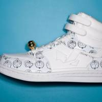 'Doraemon' sneakers by Madfoot!