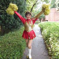 Japan Pom Pom cheerleaders founder Fumie Takino