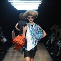 Catwalk buzz: A Facetasm chain-saw bag.