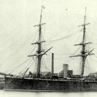 New horizons: When it was delivered in 1870, the 1,450-ton Ryujo, which Glover ordered and had built in his native city of Aberdeen, became the first warship in the new Imperial Japanese Navy.