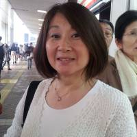 Tomoko Sakano, Housewife, 53 (Japanese): My husband's stocks are up so he's very happy. But mine are down, so for me, not so much. So using the stock market is like gambling. We don't know if Abenomics will really do much for the future yet.