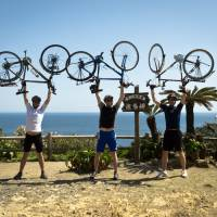 As Japan reeled from disaster, three men went cycling