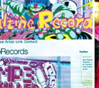 Online orders: Maltine Records website acts as the main vehicle for distributing the label's music. Right: Tomohiro 'Tomad' Konuta created Maltine with friend Syem (not pictured) in 2005.