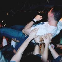 Award tour: Steven Tanaka crowd surfs during one of the performances on his Next Music From Tokyo Tour. | PHOTOS COURTESY OF STEVEN TANAKA