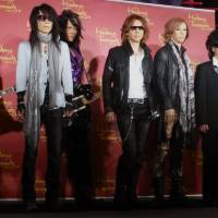 X Japan waxes lyrical at Madame Tussauds debut