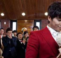 Reel lives: South Korean director Kim Jho Gwang-soo's film 'Two Weddings and a Funeral' will be screened at this year's Asian Queer Film Festival. Kim recently announced he would symbolically marry his long-term partner.