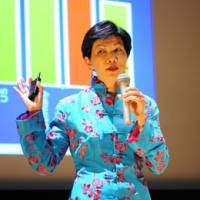 'Womenomics': Kathy Matsui, co-head of Asia macro research at Goldman Sachs, explains why women in Japan find it tough to join the workforce. | ANDY MCGOVERN/TEDXTOKYO2011