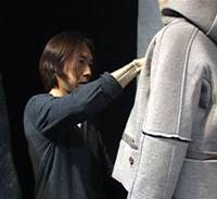 Just so: Jun Takahashi readies his collection for Paris Fashion Week in the documentary 'MIRROR: A Documentary film of UNDERCOVER.'