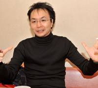 Bright ideas: Keishi Nagatsuka explains how his experience with the National Theatre in London has influenced his outlook on theater in Japan. | YOSHIAKI MIURA PHOTO