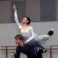 Uplifting: Miyako Yoshida as Titania and Robert Parker of BRB as Bottom, in Ashton's 'The Dream.' | ANGELA KAS/BRB