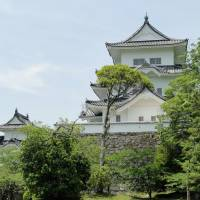 The towering presence of Iga Ueno Castle.  | MANDY BARTOK