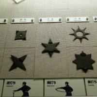 Iga-Ryu Ninja Museum features displays of shuriken. | MANDY BARTOK