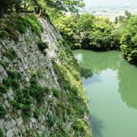 The 30-meter base walls of Iga Ueno Castle are the highest of any castle in Japan.   MANDY BARTOK