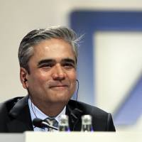 Leading the charge: Anshu Jain, co-CEO of Deutsche Bank AG, is an Indian-born British citizen. | BLOOMBERG
