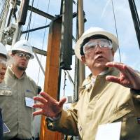Big builders jumping on board shale gas boom