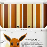 Nintendo's latest limited-edition 3DS LL sports the colors of the Pocket Monster character Eevee.