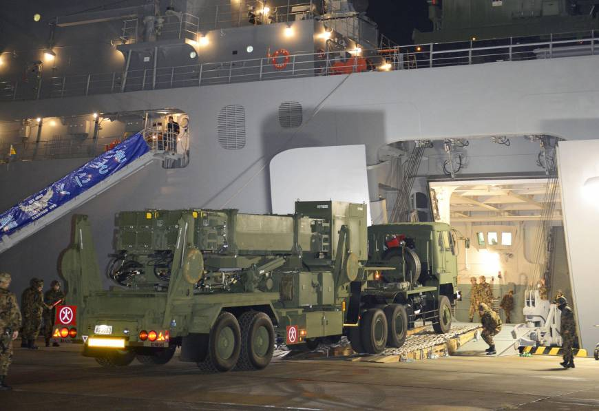 PAC-3s Okinawa-bound for North Korean launch