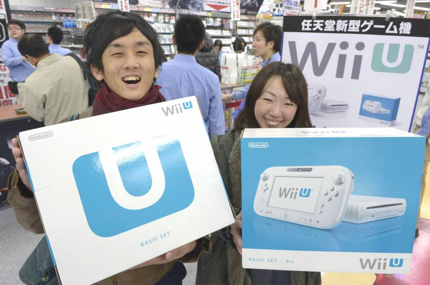 Nintendo's Wii U console hits shelves in Japan