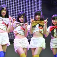 Girl group bases style on Nikkei ups and downs