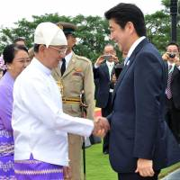 Abe's Myanmar visit may help Japan parry China's influence