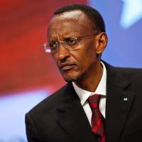 'Not me': Responding to Western criticism of his country's Congo policy, Rwandan President Paul Kagame says, 'I'm telling people to look at themselves in the mirror. They are the ones responsible for problems in Congo, not me.'   BLOOMBERG
