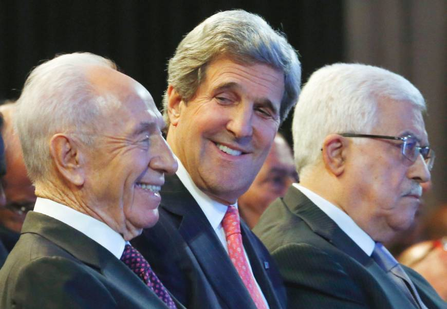 Kerry pushes West Bank development plan