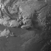 A National Oceanic and Atmospheric Administration satellite image taken May 16 shows the vicinity around Granbury,  Texas, roughly 21 minutes before the NOAA storm prediction center received a tornado report. | AFP-JIJI