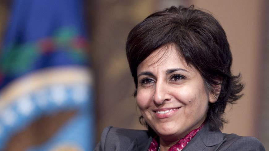 Unshackled: Neera Tanden, the 2008 Clinton campaign's policy director, has moved on to be the president of the Center for American Progress.   BLOOMBERG