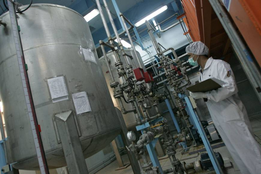 Uranium conversion may help ease bomb fears
