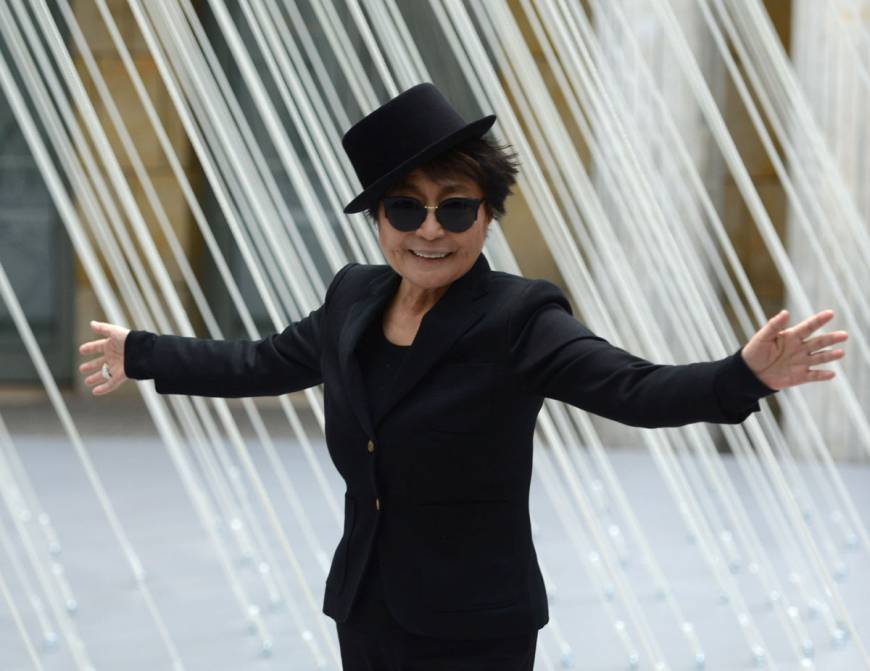 Yoko Ono: 'I feel that I am starting a new life at 80'