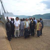 Completed in 1983 with Japanese loan aid and technical assistance, the Matadi Bridge across the Congo River is a symbol of cooperation between Japan and the Democratic Republic of the Congo. | JICA