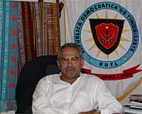 Foreign Minister and Nobel Prize laureate Jose Ramos Horta