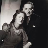 Poet and editor: An undated image shows T.S. Eliot and his second wife, Valerie. | AP