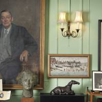 Accumulated history: An undated image made available May 30 by Christie's London auction house shows the interior of T.S. Eliot and his wife Valerie's apartment in London. Works by artists including J.M.W. Turner, Francis Bacon, Lucian Freud and Winston Churchill that were owned by Eliot's late widow will be sold in London later this year, Christie's announced May 31. | AP