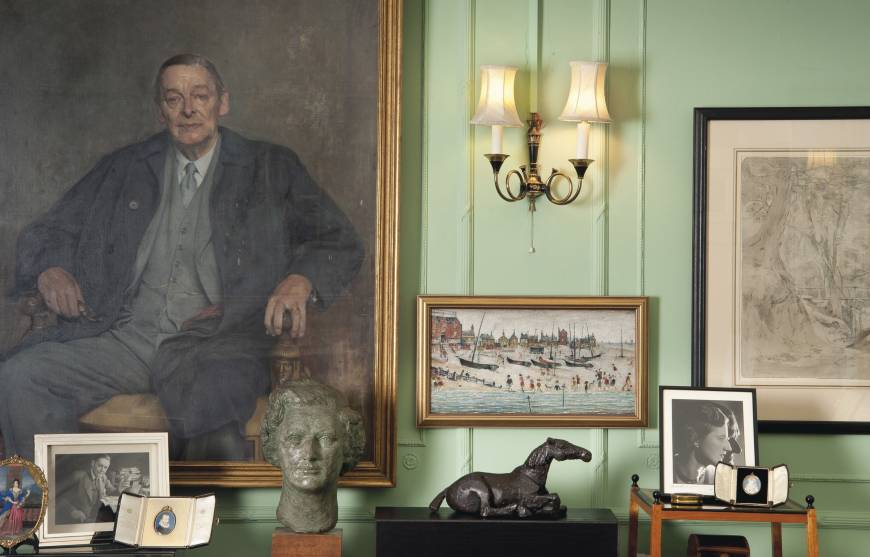 T.S. Eliot's life in letters