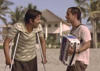 Fun in the sun: Diego Luna (left) and Gael Garcia Bernal in 'Rudo y Cursi' © 2008 CHA CHA CHA, INC. ALL RIGHTS RESERVED.