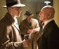 Trip into the subconscious: Ted Daniels (Leonardo DiCaprio) questions Dr. Cawley (Ben Kingsley) in 'Shutter Island.' | © 2010 BY PARAMOUNT PICTURES. ALL RIGHTS RESERVED.